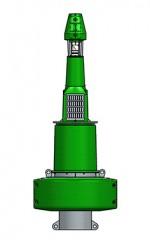 1750mm plastic navigation buoy