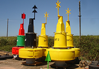 Rotationally Moulded Navigation Buoy Design
